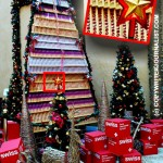 Christman Tree Made of Toblerone Chocolate